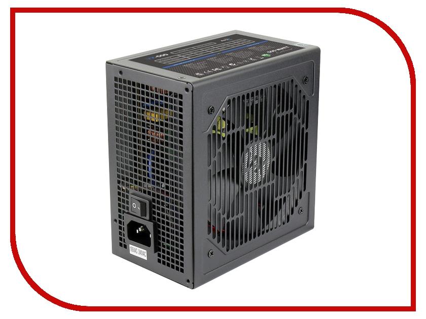 Блок питания AeroCool Retail VX-500 500W видеорегистратор intego vx 410mr
