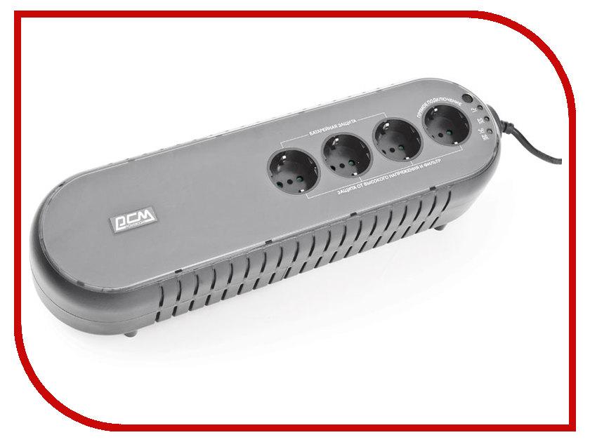 Источник бесперебойного питания Powercom WOW-850U источник бесперебойного питания powercom wow 850u 850va 425w usb 3 1 euro output