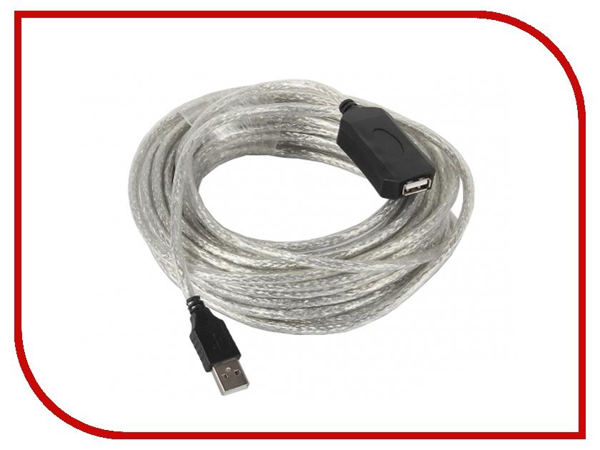 Аксессуар VCOM USB 2.0 AM-AF 15m VUS7049-15M профессиональная пассивная акустика eurosound port 15m