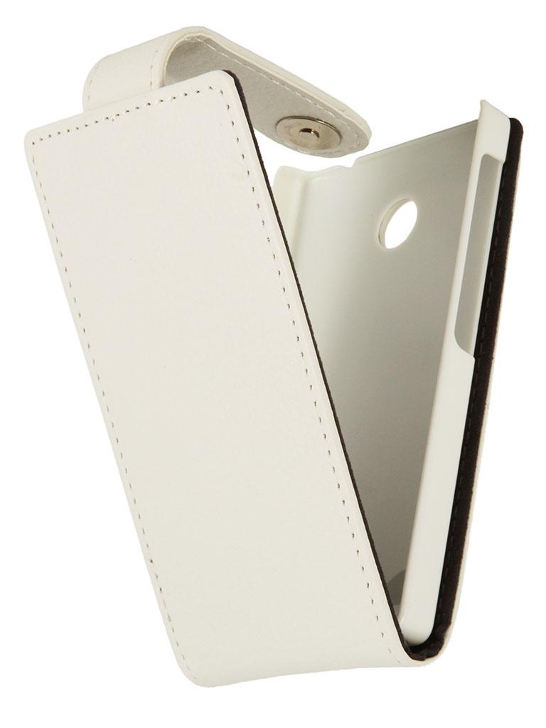 Аксессуар Чехол Nokia X / X+ iBox Classic White