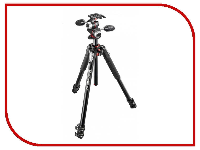 Штатив Manfrotto 055 ALU 3-S KIT 3W HEAD MK055XPRO3-3W with 577 mvmxproa4577 manfrotto