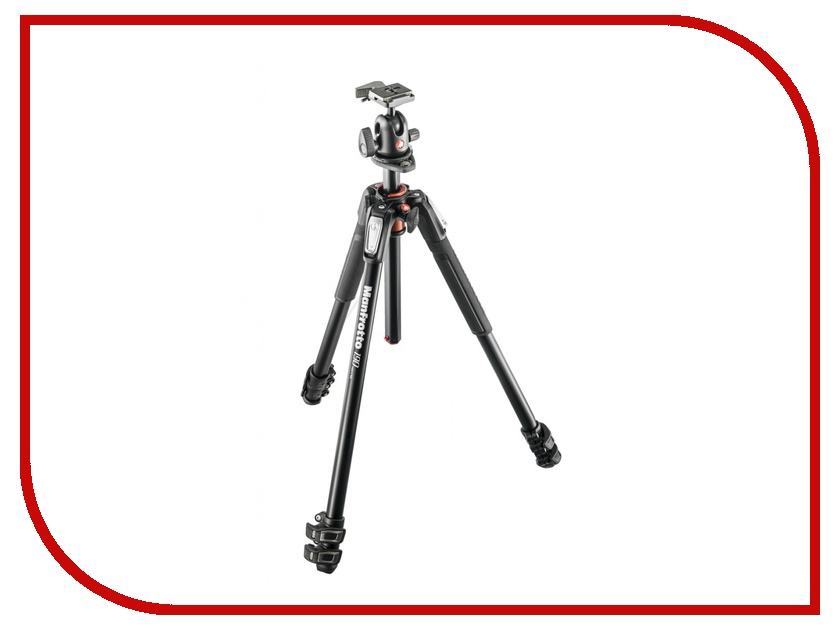 Штатив Manfrotto 190 ALU 3-S KIT 3W HEAD MK190XPRO3-3W<br>