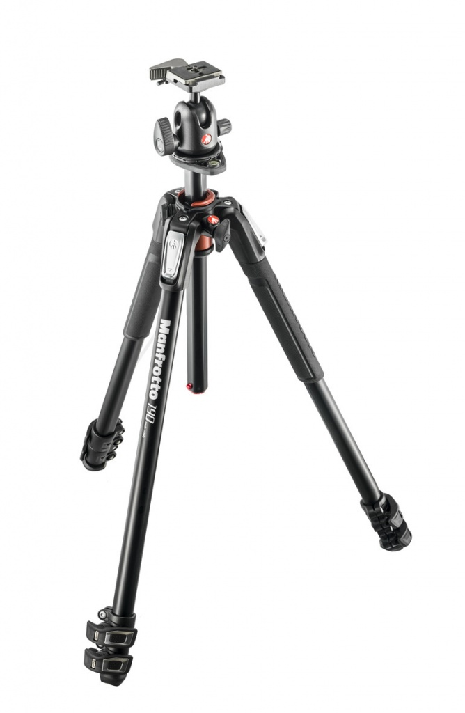Штатив Manfrotto 190 ALU 3-S KIT 3W HEAD MK190XPRO3-3W цена