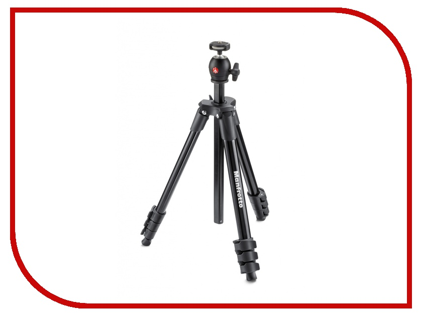 Штатив Manfrotto Compact Light Black MKCOMPACTLT-BK