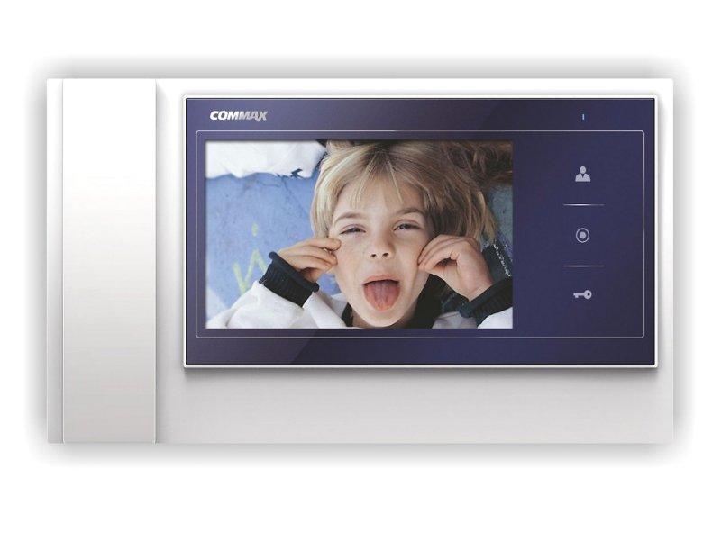 Фото - Видеодомофон Commax CDV-70K Blue коммутатор commax ciot h4l2