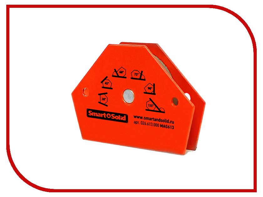 Аксессуар Магнитный угольник Smart&Solid MAG613 магнитный угольник foxweld fix 5pro до 34кг 5395