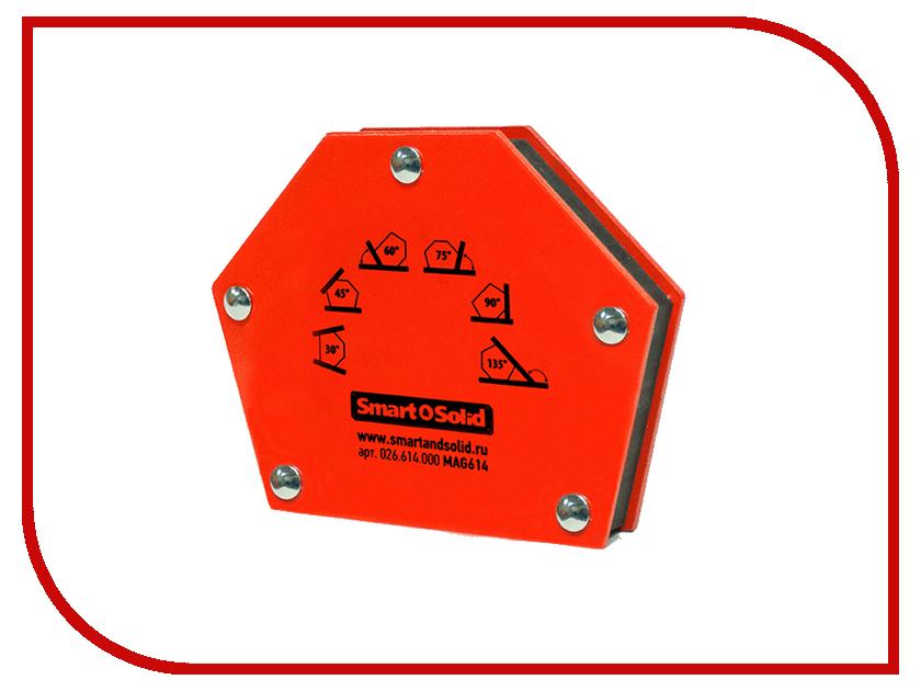 Аксессуар Магнитный угольник Smart&Solid MAG614 магнитный угольник foxweld fix 5pro до 34кг 5395