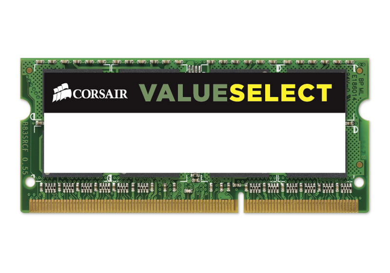 Модуль памяти Corsair PC3-12800 SO-DIMM DDR3 1600MHz - 4Gb CMSO4GX3M1A1600C11