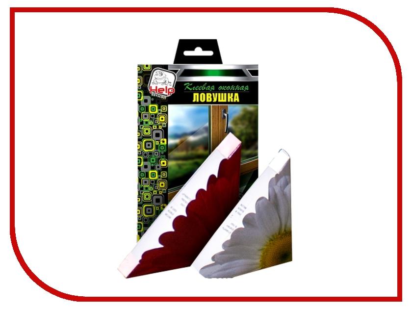 Средство защиты от мух Boyscout 80242 HELP - клеевая оконная ловушка