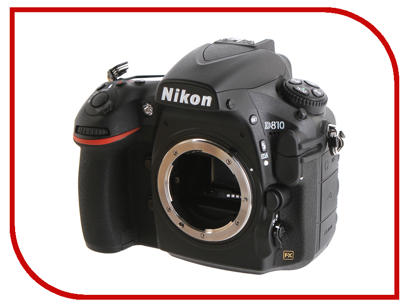 Фотоаппарат Nikon D810 Body зеркальный цифровой фотоаппарат nikon d610 body