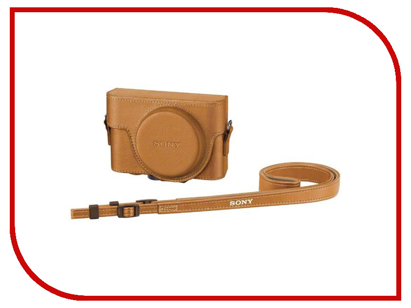 Сумка Sony LCJ-RXF for RX100III / RX100II / RX100 Beige<br>
