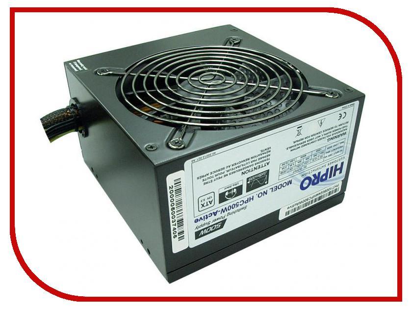 Блок питания Hipro 500W HPC500W-Active<br>