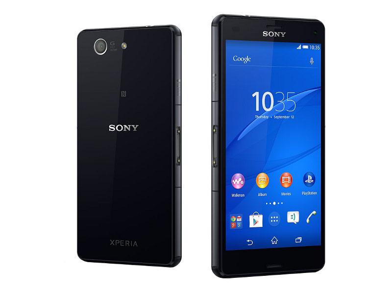 Сотовый телефон Sony D5803 Xperia Z3 Compact Black<br>