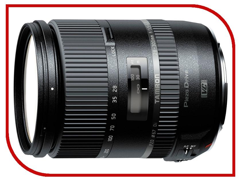 Объектив Tamron Nikon AF VC 16-300 mm F/3.5-6.3 Di II PZD Macro tamron 16 300mm f 3 5 6 3 di ll vc pzd macro nikon объектив
