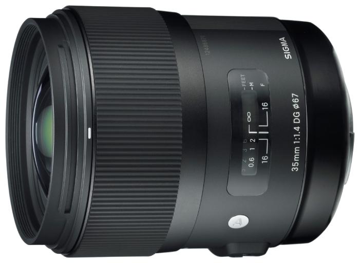 Объектив Sigma Nikon AF 35 mm F/1.4 DG HSM ART стеллаж dg home bradwin dg f cft115