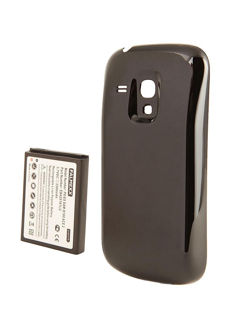 Аксессуар Аккумулятор Samsung GT-i8190 Galaxy S III Mini Palmexx - усиленный! 3300 mAh Black PX/SMI8190S3 mini