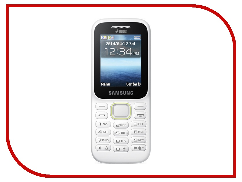 Сотовый телефон Samsung SM-B310E White<br>