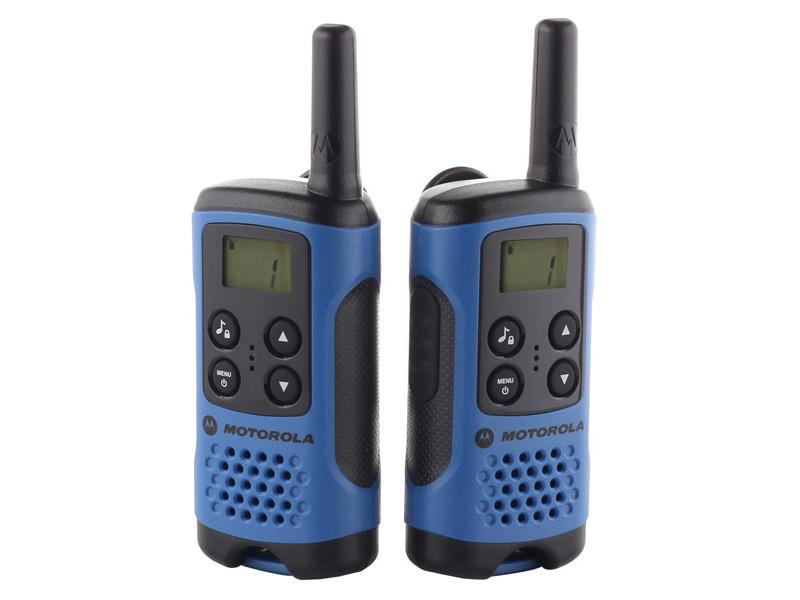 Рация Motorola TLKR-T41 Blue motorola tlkr t41 розовый
