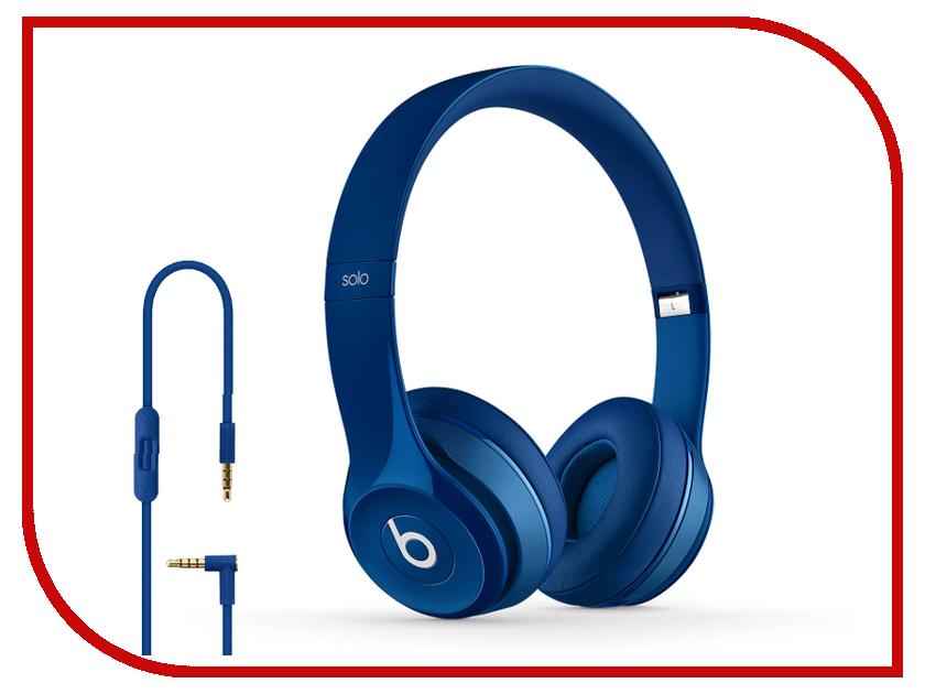 Гарнитура Beats Solo 2 Blue MHBJ2ZE/A<br>
