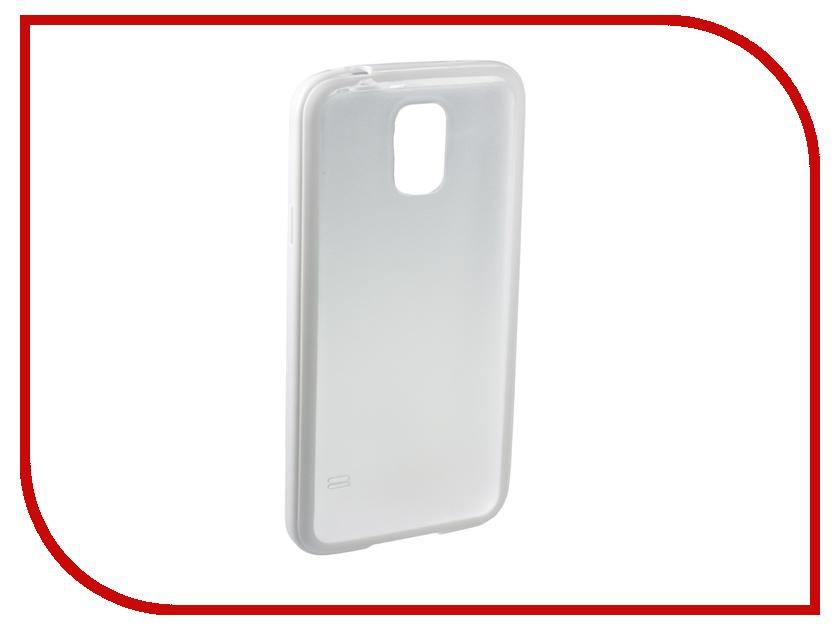 Аксессуар Чехол-накладка Samsung Galaxy S5 Partner White<br>