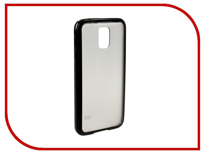Аксессуар Чехол-накладка Samsung Galaxy S5 Partner Black<br>