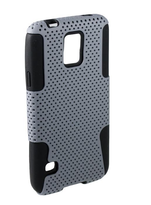 Аксессуар Чехол-накладка сетка Samsung Galaxy S5 Partner Grey