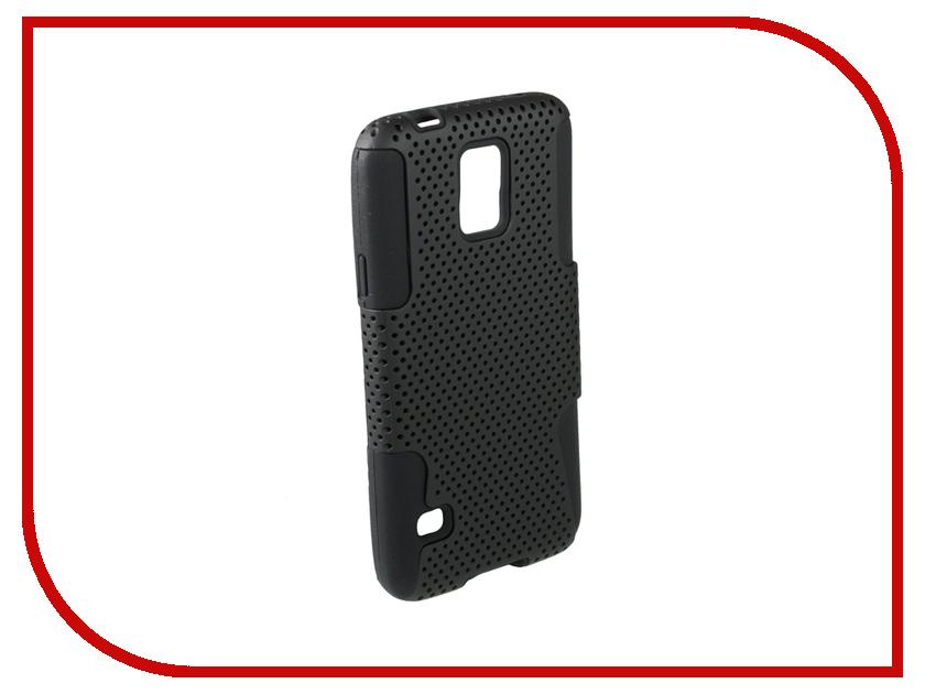 Аксессуар Чехол-накладка Samsung Galaxy S5 Partner Black ПР031628<br>