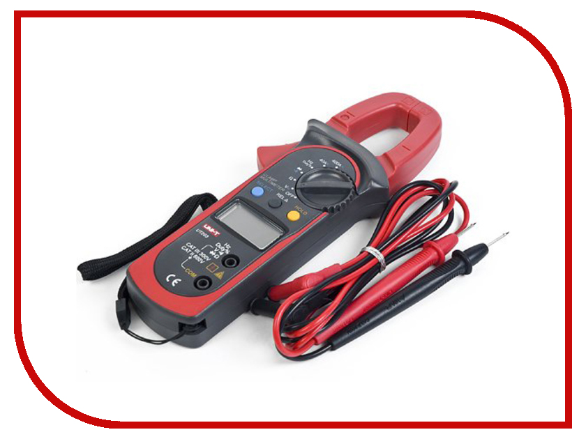 Токовые клещи UNI-T UT203 uni t ut139a true rms digital multimeter auto manual range ac dc amp volts ohm tester with data hold ncv and battery test