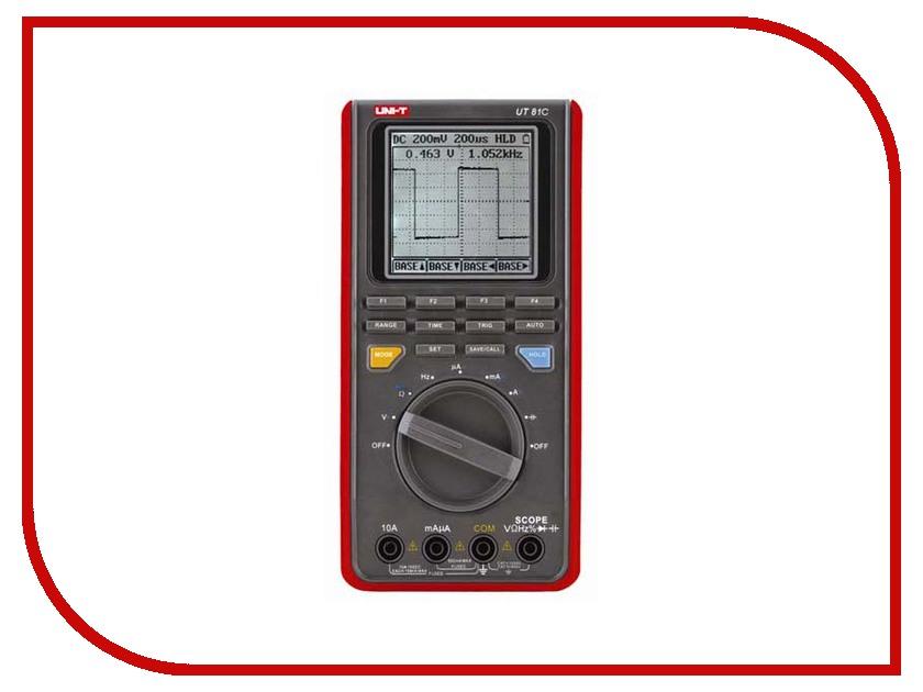 Осциллограф UNI-T UT81C uni uni t ut376 цифровой манометр универсальный шин