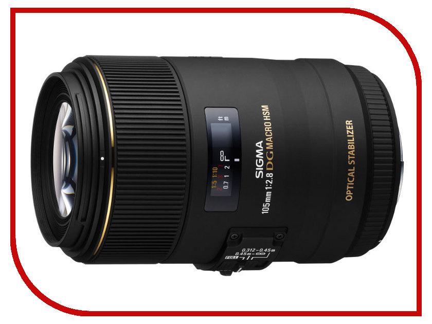 Объектив Sigma Sony / Minolta AF 105 mm F/2.8 EX DG OS HSM Macro