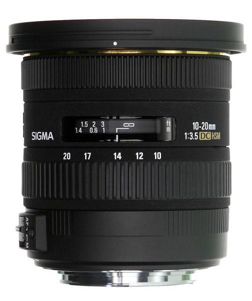 Объектив Sigma Nikon AF 10-20 mm F/3.5 EX DC HSM