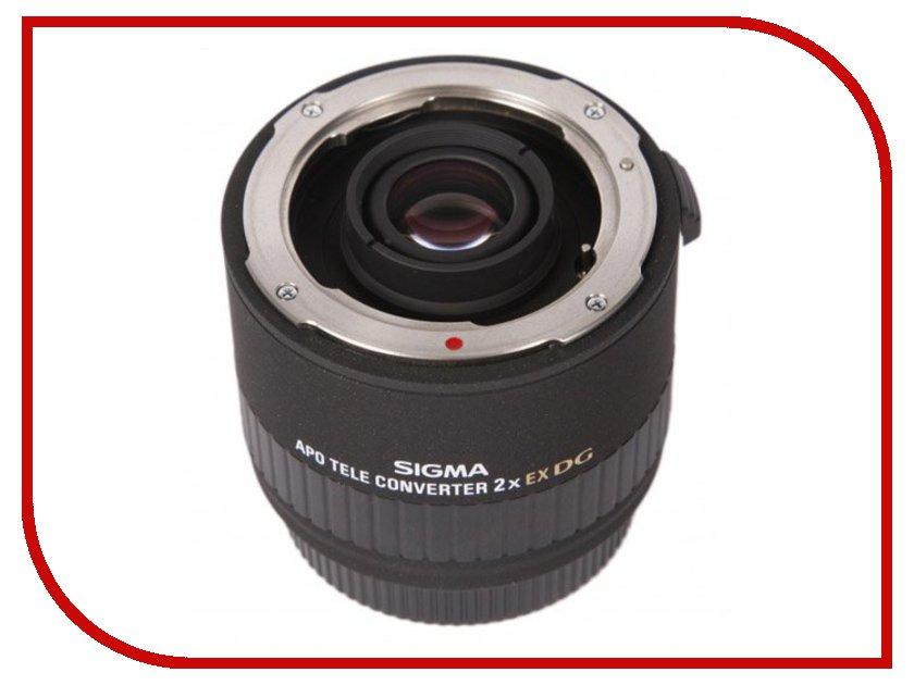 Конвертер Sigma AF 2.0x APO Tele DG Converter Canon keneksi sigma white