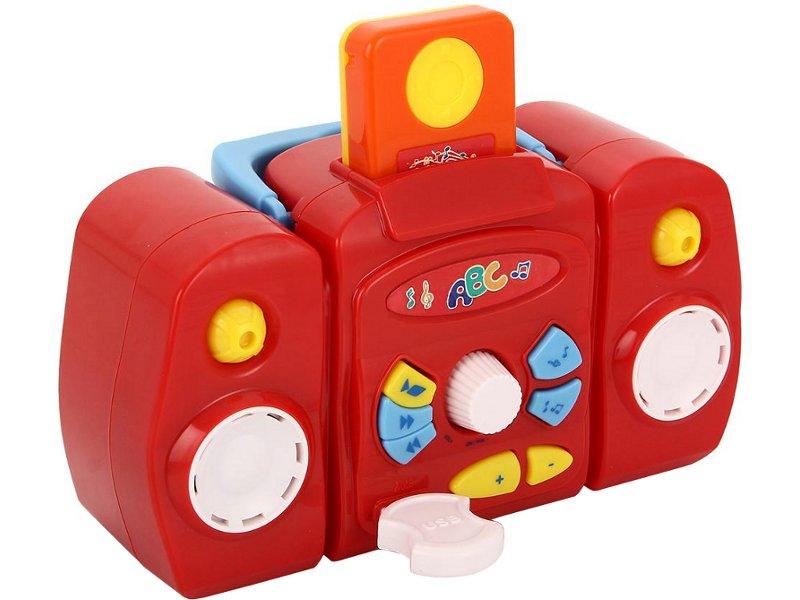 Игрушка SIMBA Магнитофон с MP3 плеером и USB 4019531