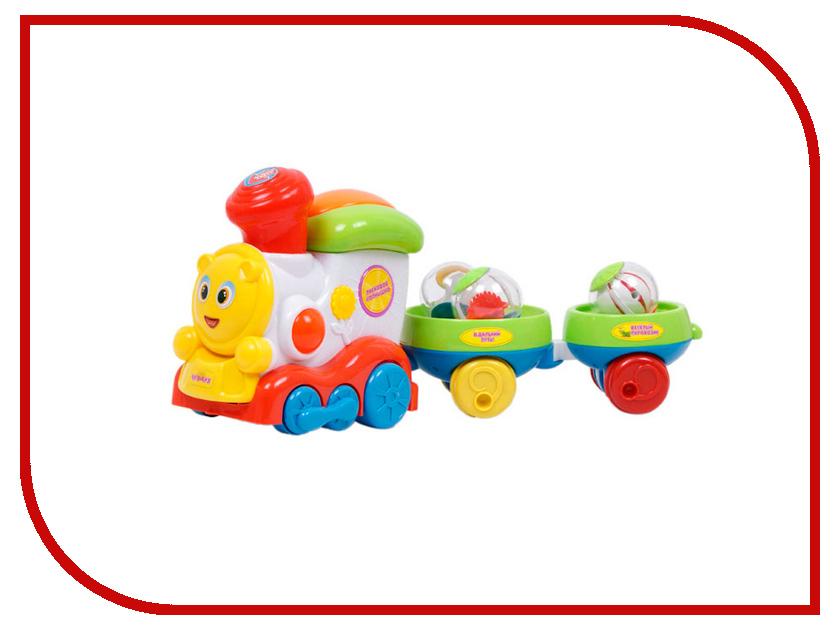 Железная дорога S+S toys Паровозик Чух-чух EC80078R от Pleer