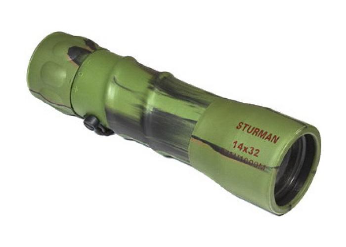 лучшая цена Монокуляр Sturman 14x32 Green