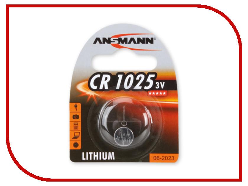 Батарейка CR1025 - Ansmann BL1 1516-0005 батарейка cr2354 ansmann 1516 0012 bl1