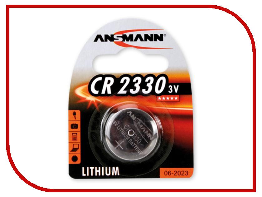 Батарейка CR2330 - Ansmann 1516-0009 BL1<br>