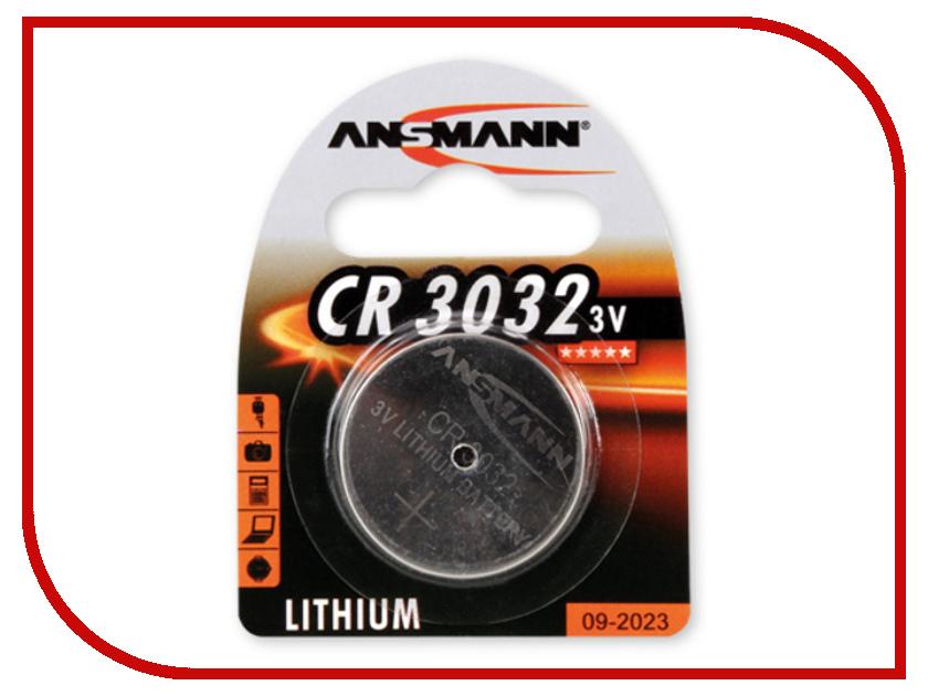 Батарейка CR3032 - Ansmann BL1 1516-0013 батарейка cr2354 ansmann 1516 0012 bl1