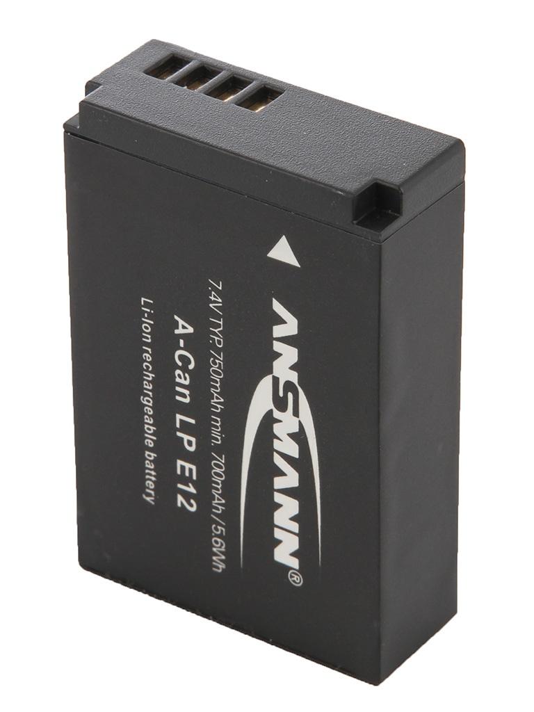 Аккумулятор Ansmann A-Can LP-E12 1400-0045 BL1