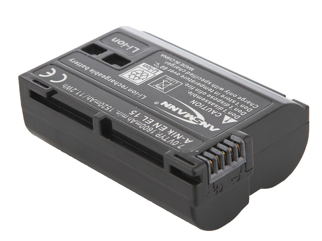 Аккумулятор Ansmann A-Nik EN-EL15 1400-0043 BL1