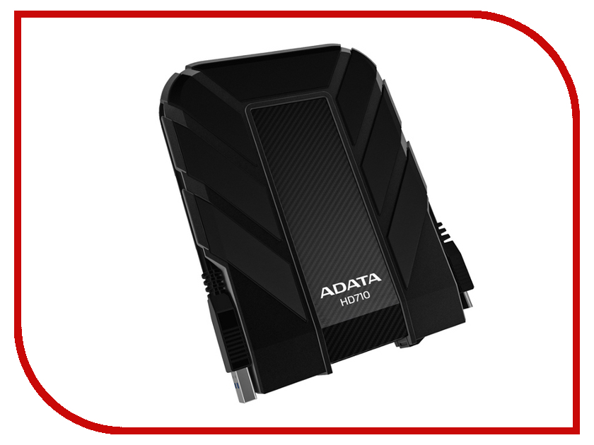 Жесткий диск A-Data DashDrive Durable HD710 2Tb Black AHD710-2TU3-CBK