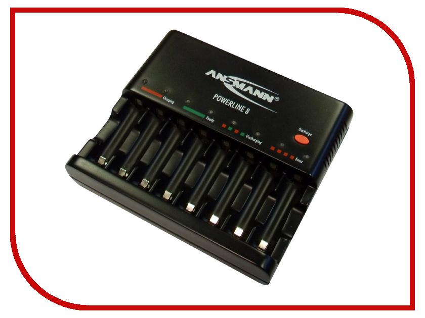 Зарядное устройство Ansmann Powerline 8 BL1 1001-0006 батарейка cr2354 ansmann 1516 0012 bl1