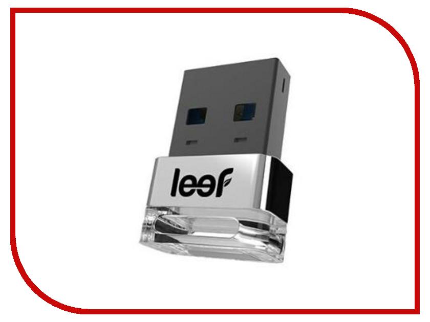 USB Flash Drive 32Gb - Leef Supra 3.0 Silver LFSUP-032SXR<br>