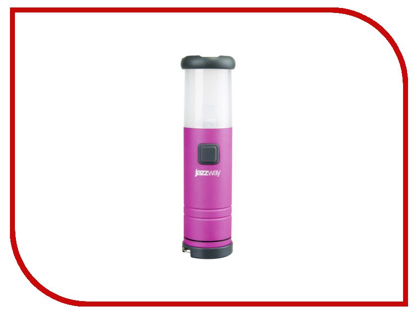 Фонарь Jazzway L1-L1W-4AAA BL-1 Pink<br>