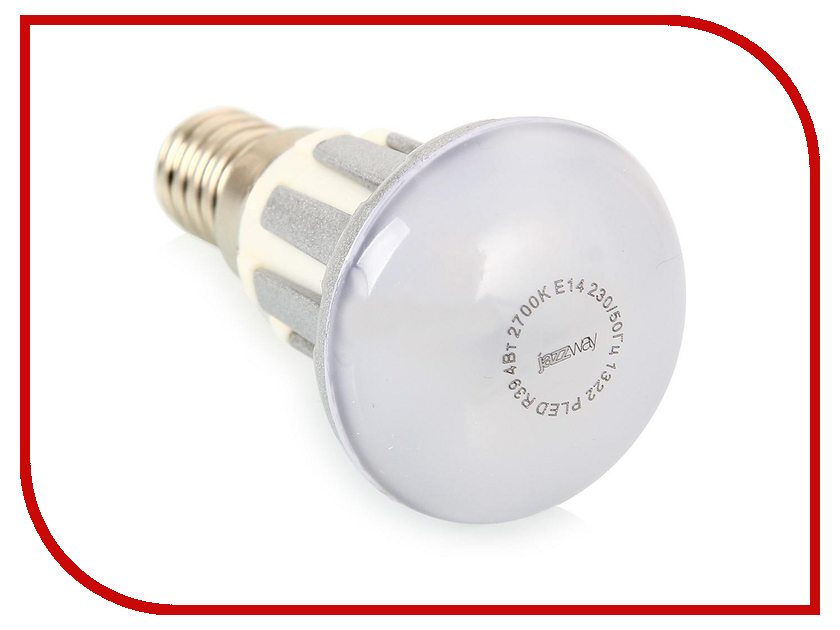 Лампочка Jazzway PLED-R39 4=30W 300Lm E14 230V (2700K)<br>