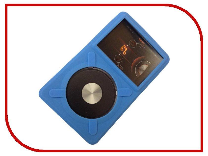 Аксессуар Чехол Fiio X5 силиконовый Blue<br>