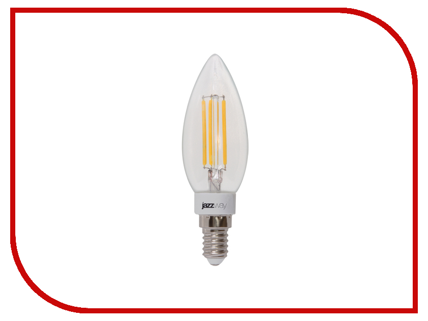 Лампочка Jazzway PLED-OMNI-C37 4W 360 Lm E14 230V (2700K)