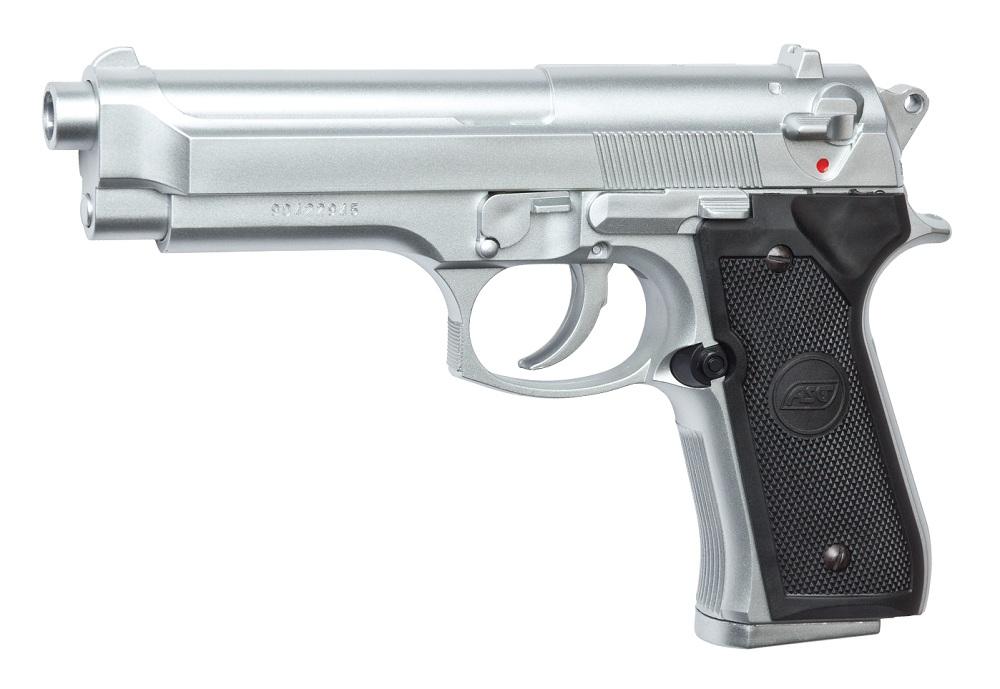 Пистолет ASG M92FS Chrome 14098 от Pleer
