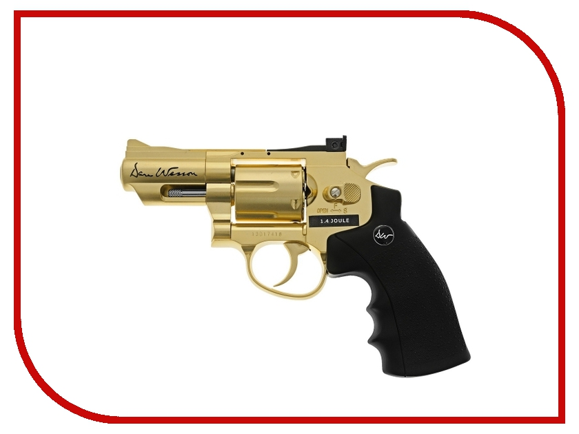 Пистолет ASG Dan Wesson 2.5 Gold 17373 / 17374