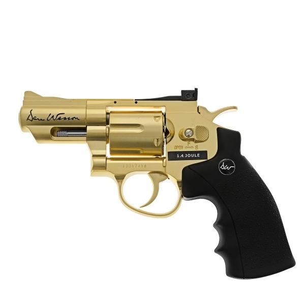Страйкбольный пистолет ASG Dan Wesson 2.5 Gold 17373 / 17374 цена